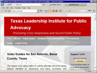 Texas Leadership Institute for Public Advocacy